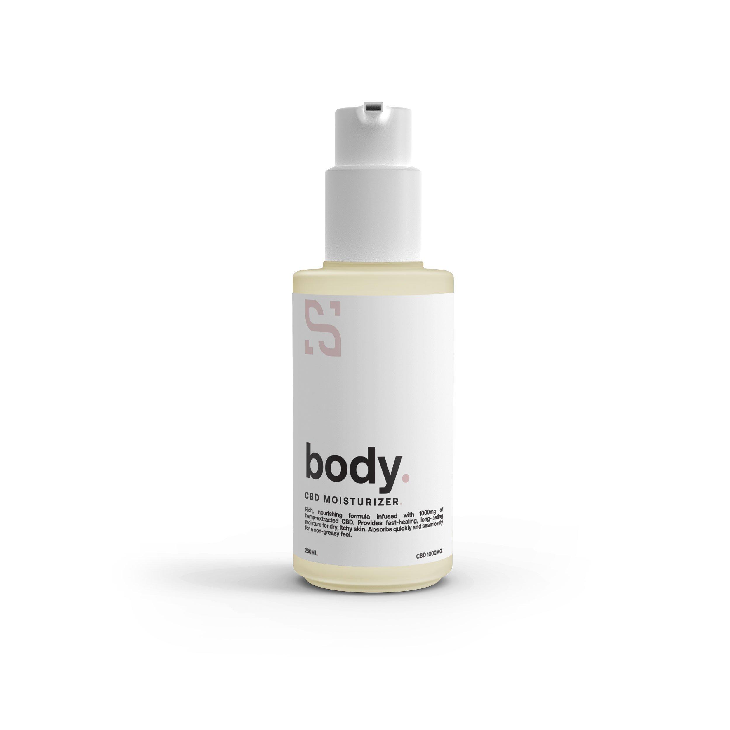 Natural CBD Skin Moisturizer
