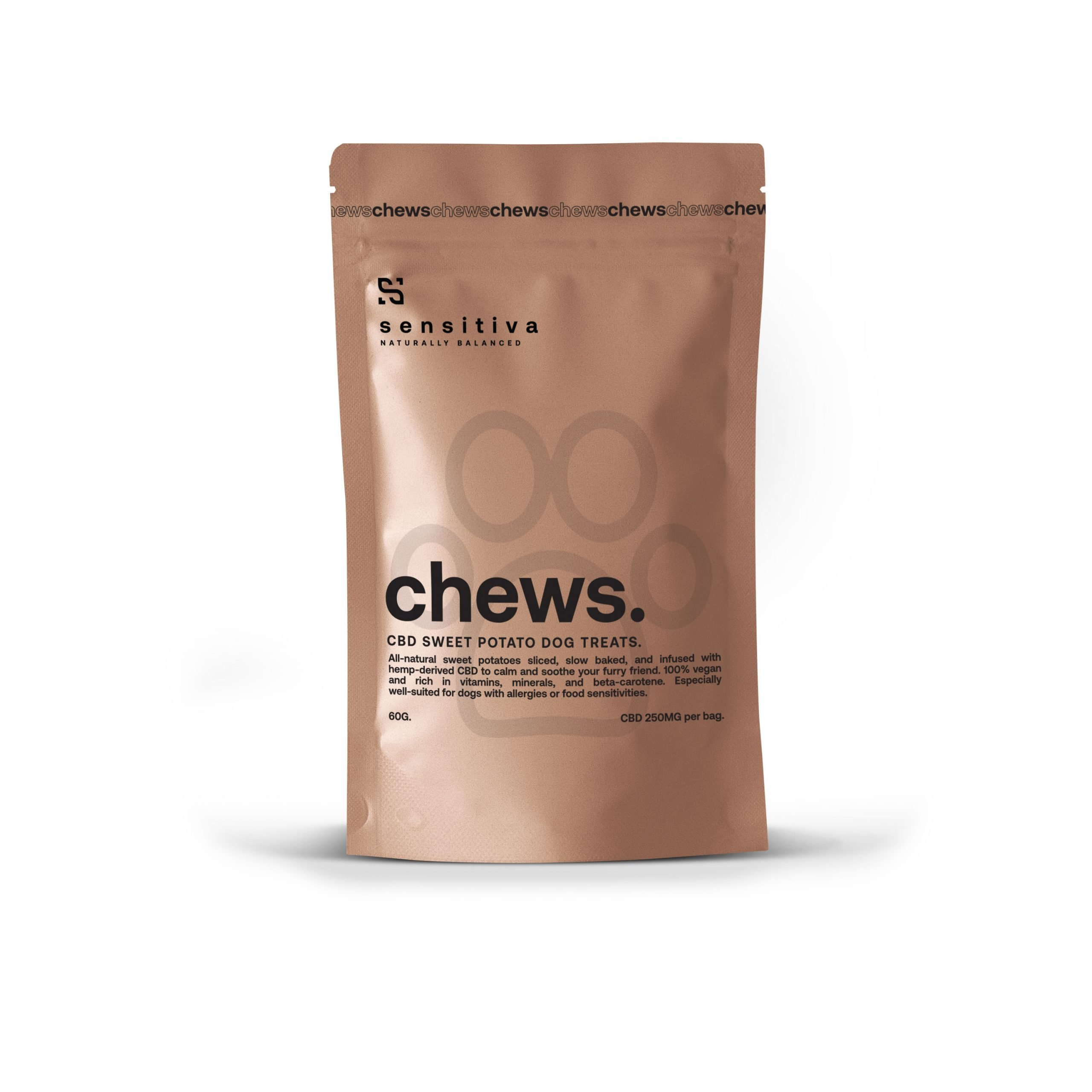 CBD dog treats package